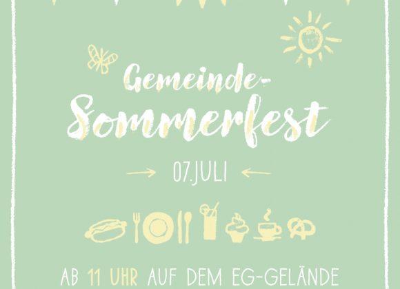 Sommerfest am 7. Juli