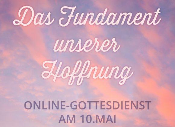 Online-Gottesdienst am 10.Mai