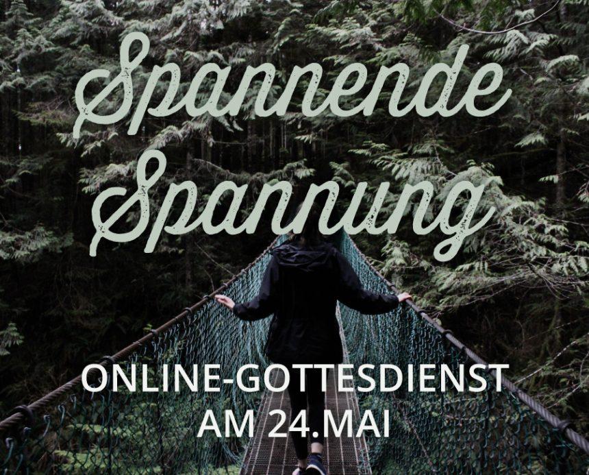 Online-Gottesdienst am 24.05.