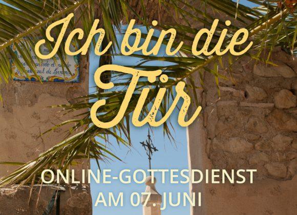 Online-Gottesdienst am 07.06.