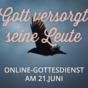 Online-Gottesdienst am 21.06.