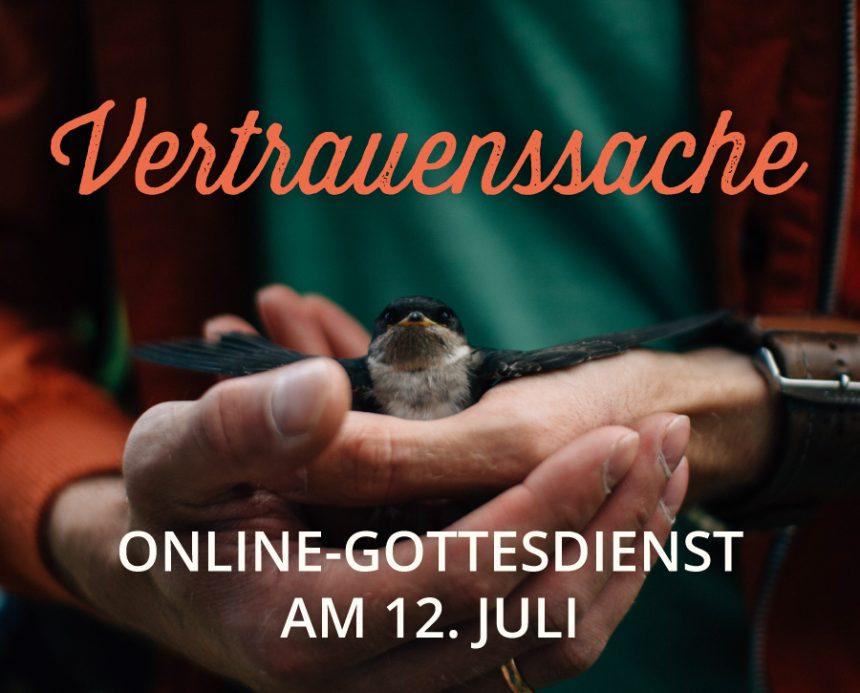 Online-Gottesdienst am 12.07.