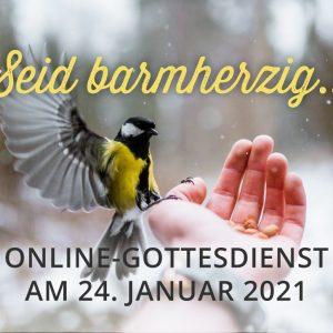 Online-Gottesdienst am 24.01.