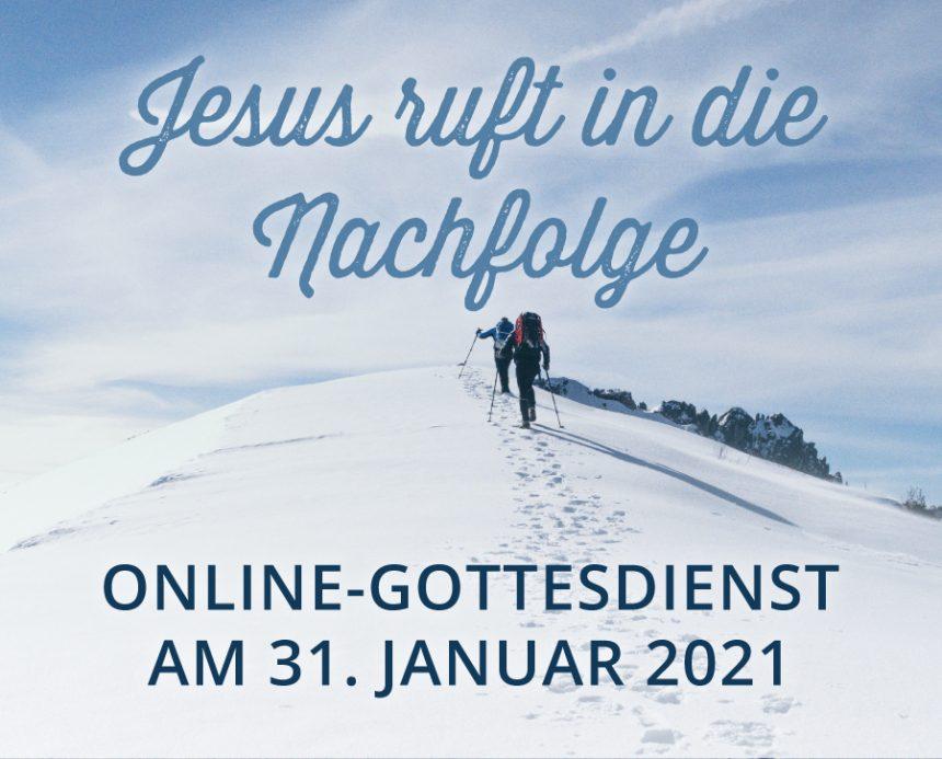Online-Gottesdienst am 31.01.