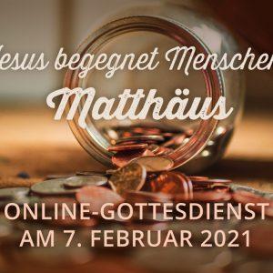 Online-Gottesdienst am 07.02.