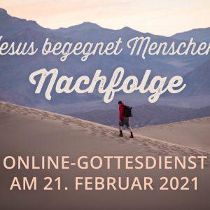 Online-Gottesdienst am 21.02.