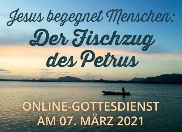 Online-Gottesdienst am 07.03.