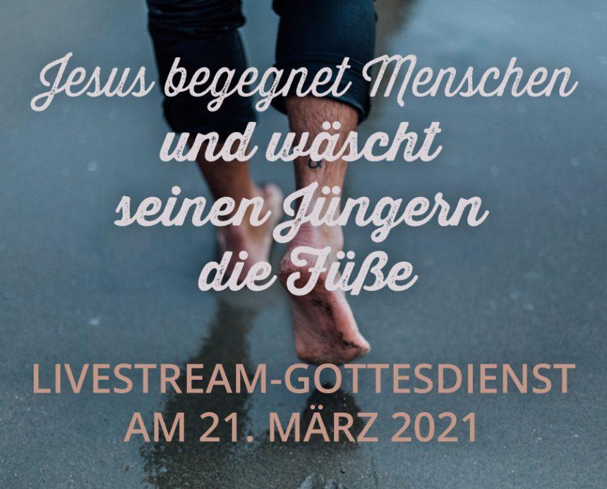 Livestream am 21.03.