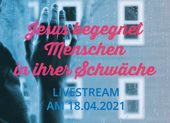 Livestream am 18.04.