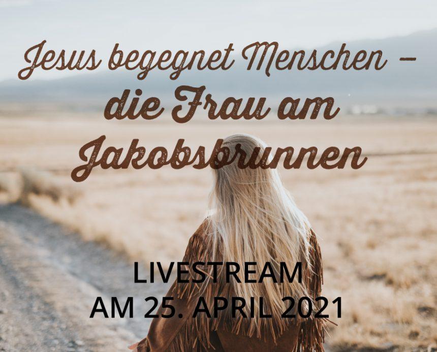 Livestream am 25.04.