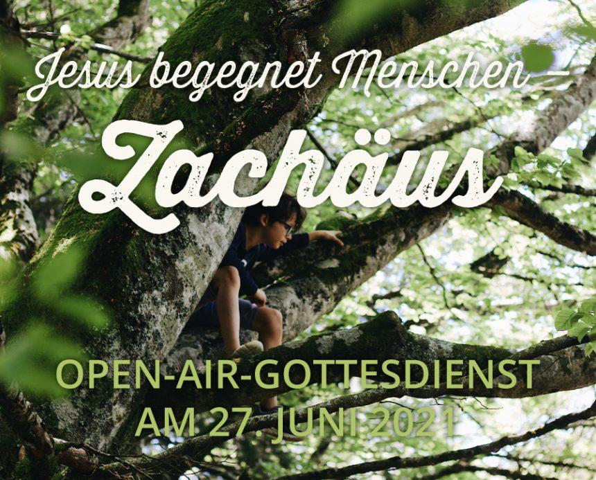 Open-Air-Gottesdienst am 27.06.